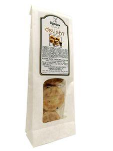 Liposuxten - Delight Cookie Frutti Rossi Confezione 120 Gr (Scadenza Prodotto 31/01/2021)
