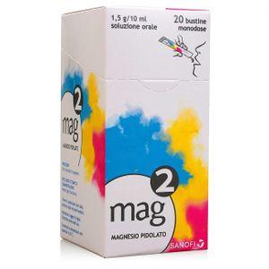 Mag - 2 1.5 G Confezione 20 Bustine