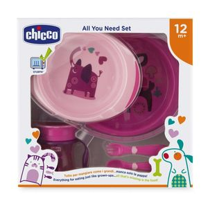 Chicco - Set Pappa 12M+ Rosa