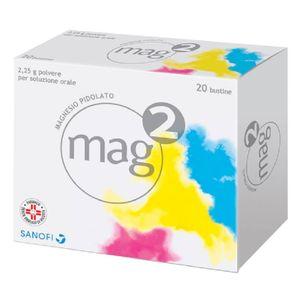 Mag - 2 2.25 G Confezione 20 Bustine