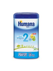 Humana - 2 Probalance Latte Polvere Confezione 1100 Gr
