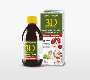 3D - Il Depurativo Confezione 250 Ml