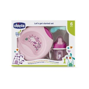 Chicco - Set Pappa 6M+ Rosa