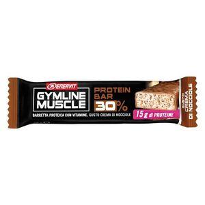 Enervit - Gymline Muscle Protein Barretta 32% Gusto Nocciola Confezione 48 Gr
