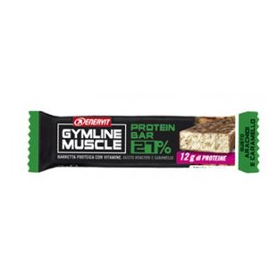 Enervit - Gymline Muscle Protein Barretta 27% Arachidi E Caramello Confezione 45 Gr