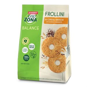 Enervit - Enerzona Frollini 40-30-30 Cereali Antichi Confezione 250 Gr (Scadenza Prodotto 18/06/2021)