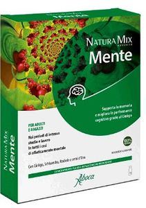 Aboca - Natura Mix Advanced Mente Confezione 10 Flaconcini