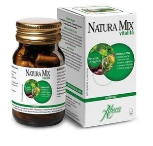 Aboca - Natura Mix Vitalità Confezione 50 Opercoli (Scadenza Prodotto 27/05/2021)