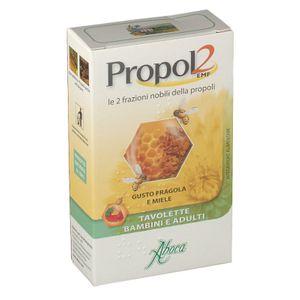 Aboca - Propol2 Emf Gusto Fragola E Miele Confezione 45 Tavolette