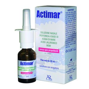 Actimar - Soluzione Nasale Spray 3% Confezione 20 Ml