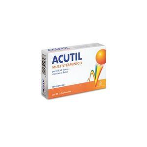 Acutil - Multivitaminico Confezione 30 Compresse