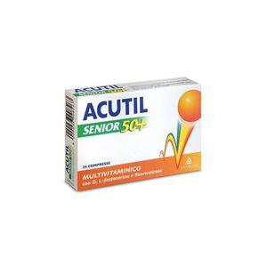 Acutil - Senior 50+ Confezione 24 Compresse