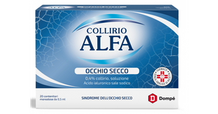 Alfa - Dropstar Occhio Secco Collirio Confezione 20 Monodose