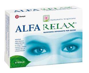Alfa - Relax Maschera Riposante Per Occhi Confezione 6 Pezzi