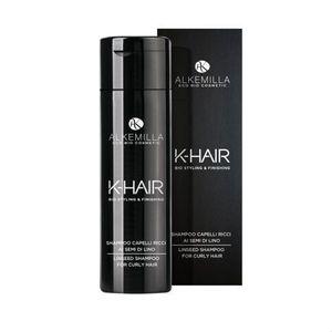 Alkemilla - K-Hair Shampoo Capelli Ricci Ai Semi Di Lino Confezione 250 Ml