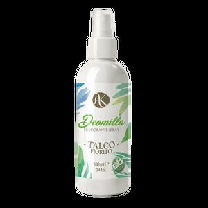Alkemilla - Deodorante Talco Fiorito Spray Confezione 100 Ml