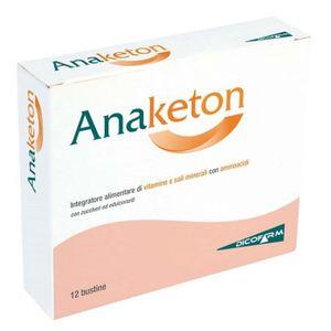 Anaketon - Buste Confezione 12 Bustine (Scadenza Prodotto 01/11/2020)