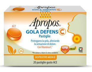 Apropos - Gola Defens C Gusto Ace Confezione 20 Pastiglie (Scadenza Prodotto 28/05/2021)