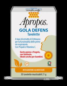 Apropos - Gola Defens Confezione 30 Tavolette Masticabili