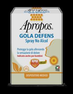Apropos - Gola Defens Spray No Alcool Confezione 20 Ml