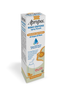 Apropos - Rino Defens Spray Nasale Soluzione Ipertonica Confezione 125 Ml