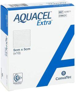 Aquacel - Extra Hydrofiber 5X5 Cm Confezione 10 Pezzi