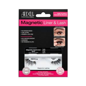 Ardell - Eyeliner Magnetico Liquido + Ciglia Magnetiche Accents 002
