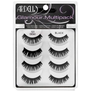 Ardell - Multipack Lashes 101 Demi Black Confezione 4 Paia