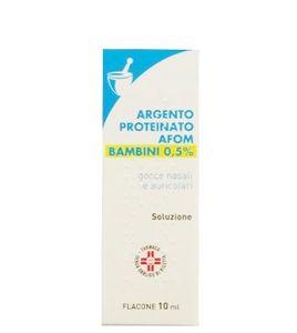 Argento Proteinato Afom - 0,5% Confezione 10 Ml