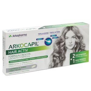 Arkopharma - Arkocapil Hair Activ Confezione 3X30 Compresse