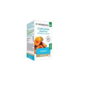 Arkopharma - Arkocapsule Bio Curcuma Piperina Confezione 130 Capsule