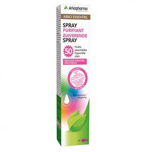 Arkopharma - Spray Purificante Aria 50 Oli Essenziali Confezione 200 Ml
