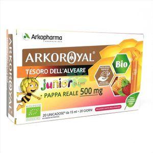 Arkopharma - ArkoRoyal Pappa Reale Bambini 500 Mg Confezione 10 Monodose