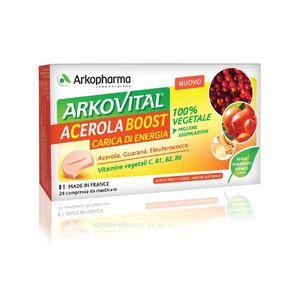 Arkopharma - Arkovital Acerola Boost Confezione 24 Compresse