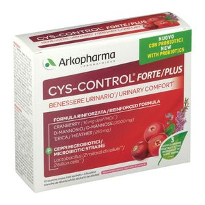 Arkopharma - Cys Control Forte Probiotici Confezione 15 Bustine