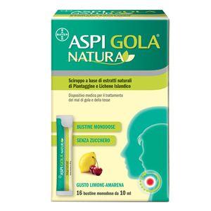 Aspi Gola - Natura Confezione 16 Bustine Monodose