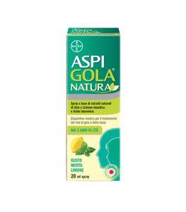Aspi Gola - Natura Spray Gusto Menta E Limone Confezione 20 Ml