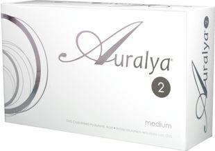 Auralya - 2 Medium Confezione 2 Siringhe Da 1 Ml