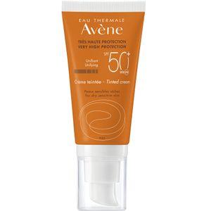 Avene - Solare Crema Colorata Protezione Spf 50+ Confezione 50 Ml (Scadenza Prodotto 28/11/2021)