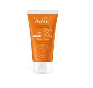 Avene - Solare Crema Protezione Spf 30 Confezione 50 Ml (Scadenza Prodotto 28/10/2021)