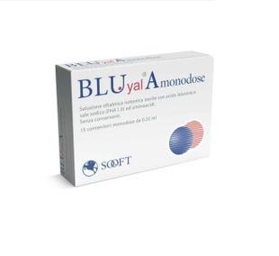Bluyal - A Gocce Oculari Confezione 15 Flaconcini Monodose