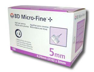 Bd - Ago Penna Per Insulina Thinwall G31 5 Mm Confezione 100 Pezzi