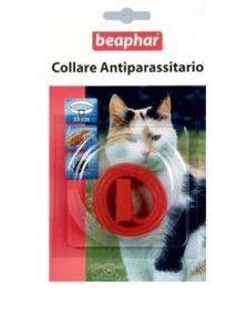 Beaphar - Collare Antiparassitario Rosso per Gatto Confezione 1 Pezzo