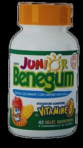 Benegum- Junior Gelee Vitamine B Confezione 42 Caramelle
