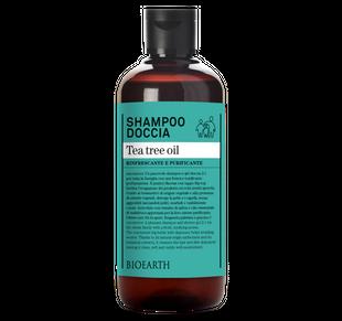 Bioearth - Shampoo Doccia Tea Tree Oil Confezione 500 Ml