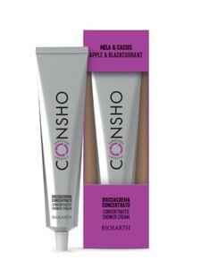 Bioearth - Consho Bagnocrema Concentrato Mela e Cassis Confezione 100 Ml