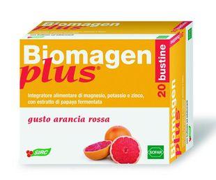 Biomagen Plus - Gusto Arancia Rossa Confezione 20 Bustine