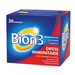 Bion - 3 Confezione 30 Compresse