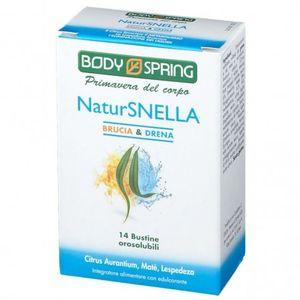 Body Spring - Natur Snella Brucia E Drena Confezione 14 Bustine (Scadenza Prodotto 28/12/2021)