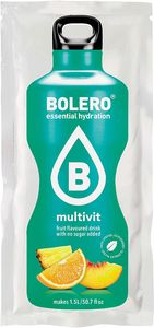 Bolero- Drink Frutti Tropicali Multivitaminico Confezione 9 Gr